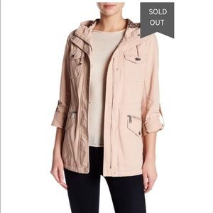 BCBGeneration Blush Pink Utility Jacket